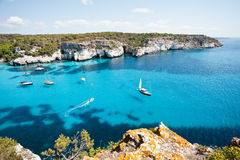Cala Macarella Royalty Free Stock Photography