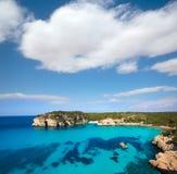 Cala Macarella Macarelleta Cituradella in Menorca Balearic Stock Photography