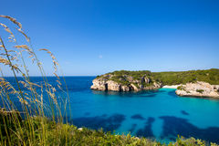 Cala Macarella Macarelleta Cituradella in Menorca Balearic Royalty Free Stock Photography