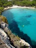 Cala Macarella Menorca stock images