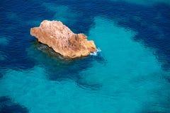 Cala Macarella Menorca turquoise Balearic Mediterranean Royalty Free Stock Images