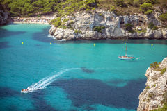 Free Cala Macarella On Menorca, Balearic Islands, Spain Stock Images - 61365014