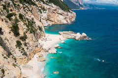 Cala Mariolu beach Royalty Free Stock Photo