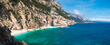 Cala Mariolu beach Stock Photography