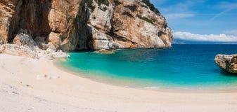 Cala Mariolu beach Royalty Free Stock Images
