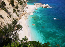 Cala Mariolu beach Royalty Free Stock Photography
