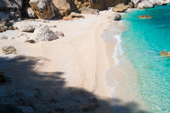 Cala Mariolu beach Stock Image