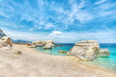 Cala Mariolu in hdr Royalty Free Stock Photo