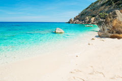 Cala Mariolu shore Royalty Free Stock Photo