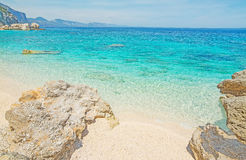 Cala Mariolu shore Royalty Free Stock Photography