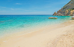 Cala Mariolu shoreline Stock Photo