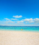 Cala Mariolu shoreline Royalty Free Stock Photos