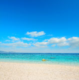 Cala Mariolu shoreline Royalty Free Stock Image