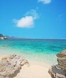 Cala Mariolu shoreline Stock Photography