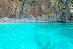 Cala Mariolu water Stock Photography