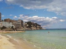 Cala Mayor Beach Royalty Free Stock Photography