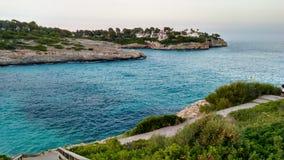 Cala Mendia Beach in Mallorca. Cala Mendia Beach in Palma Mallorca, Spain Royalty Free Stock Photo
