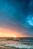 Cala Millor Sunrise Royalty Free Stock Photography