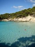 Cala Mitjana Menorca Royalty Free Stock Image