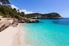 Cala Mitjaneta in Menorca Ciutadella at Balearics Stock Photos