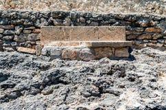 Cala Mondrago - красивые пляж и побережье Мальорки, каменный ben Стоковое фото RF