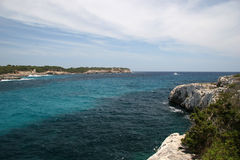 Cala mondrago. Mallorca Royalty Free Stock Images