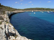 Cala Mondrago Stock Photography