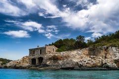 Cala Mondrago, Natural park Mondrago Royalty Free Stock Photography