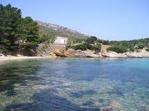 Cala moresca sardinia  Arkivbild
