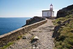 Cala Nans Lighthouse Costa Brava Stock Images