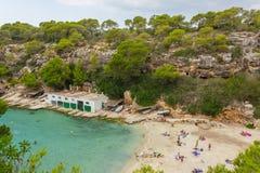 Cala Pi Bay, Mallorca, Baleares, Spain stock photo