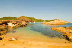 Cala pregonda Royalty Free Stock Photos