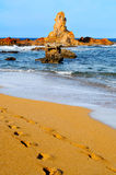 Cala Pregonda beach in Menorca Royalty Free Stock Image