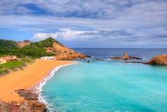 Free Cala Pregonda In Menorca At Balearic Islands Royalty Free Stock Photo - 35149355