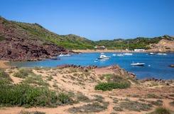 Cala Pregonda, Menorca, Spain Stock Photos