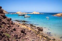 Cala Pregonda, Menorca, Spanien Stockfoto