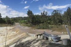 Cala Queensland marzo de 2017 inundado Fotografía de archivo