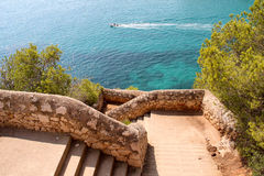 Cala Romantica, Majorca 免版税库存图片