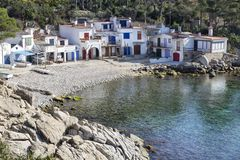 Cala s'Alguer Royalty Free Stock Photos