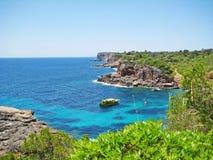 Cala s'Almunia, Cala des Moro/, Majorca obraz royalty free