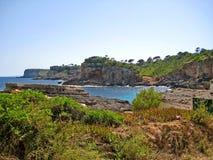 Cala s'Almunia / Cala des Moro, Majorca Royalty Free Stock Photo