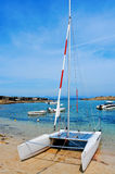 Cala Sa Roqueta cove in Formentera, Balearic Islands, Spain Royalty Free Stock Images