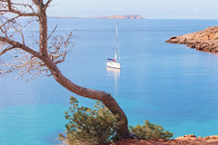 Cala Salada, Ibiza, Spain Stock Images