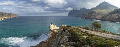 cala San Vicente в Мальорке Стоковые Фотографии RF