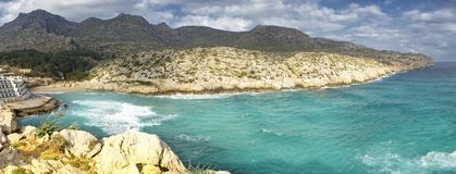 cala san vicente in Mallorca Royalty Free Stock Images