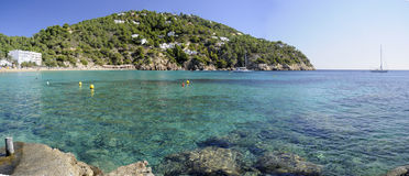 Cala san Vincente in Ibiza Royalty Free Stock Photography