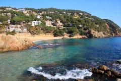 Cala Sant Francesc (costa Brava, España) Imagen de archivo libre de regalías