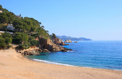 Cala Sant Francesc (Costa Brava, Spain) Stock Photos