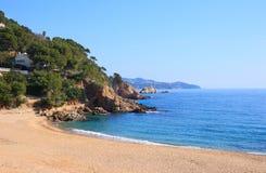 Cala Sant Francesc (Costa Brava, Spain). Cala Sant Francesc beach near Blanes (Costa Brava, Catalonia, Spain Stock Photos