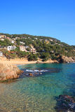 Cala Sant Francesc (Costa Brava, Spain) Stock Images